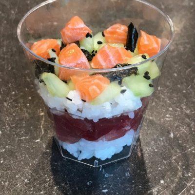 Sushi glaasje