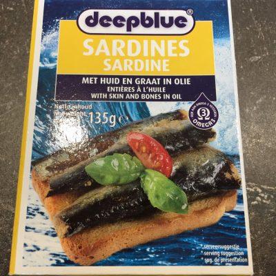 Sardines in blik