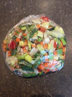 Mossel groente